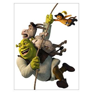 Shrek. Размер: 30 х 40 см